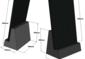 Betona pamatne vp-400x600mm plāksnei
